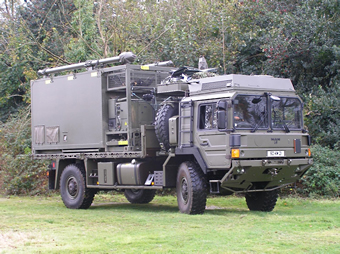 Supporting vehicle mounted comms and ISTAR objectives
